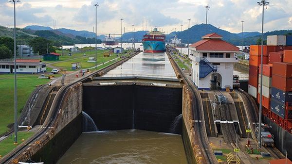 Mexico es el octavo pais que mas usa Canal de Panama