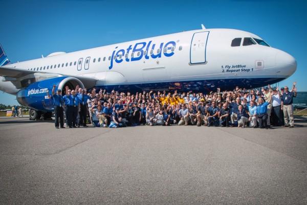 Operarios de JetBlue