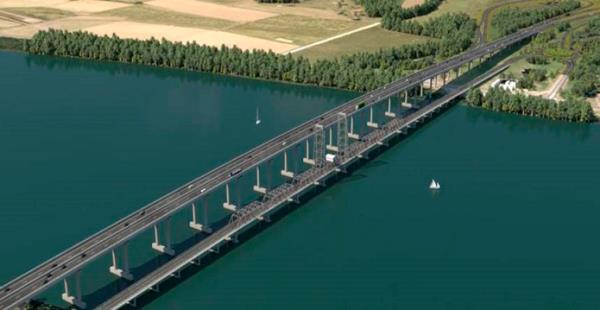 Puente en autopista 'Pacific Highway'