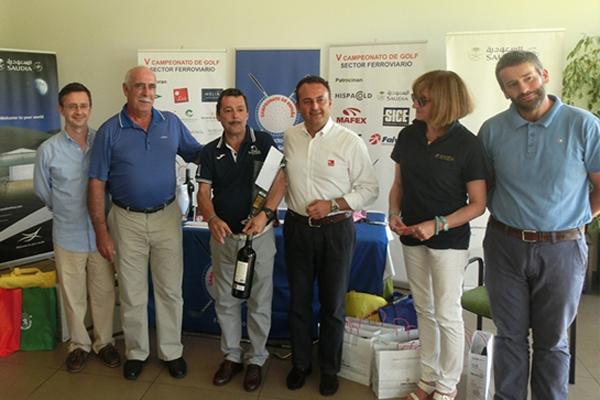 Saudia Airlines patrocina el V Campeonato de España de golf del Sector Ferroviario