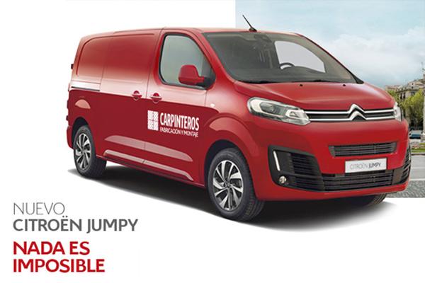 Citroën presenta su nuevo modelo Jumpy en Mercamadrid
