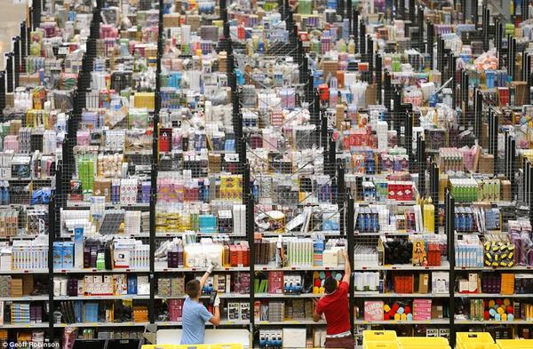 Amazon aumenta su inventario en Mexico