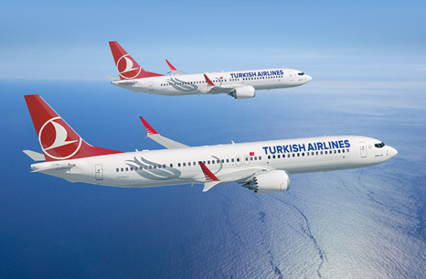 Aviones turkish airlines