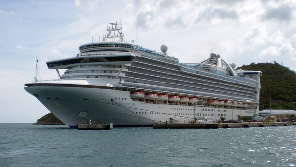 Buque de Princess Cruises sufre averia