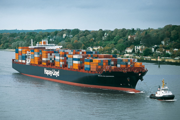 Buque de transporte de contenedores de Hapag-Lloyd