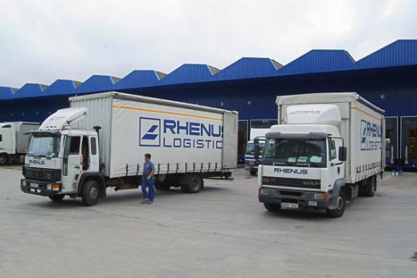 Camiones de Rhenus Logistics