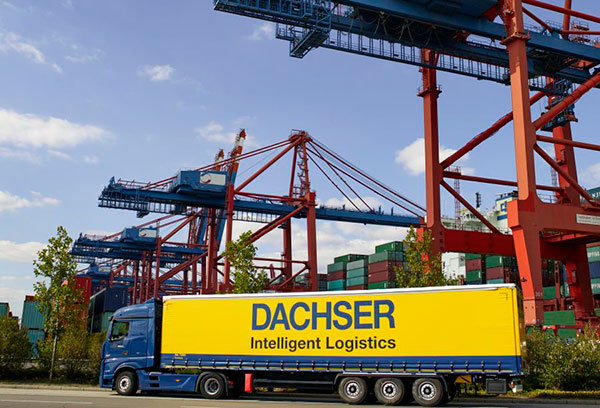 Dachser-camion