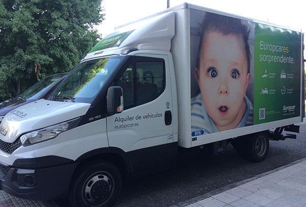 Europcar-camion