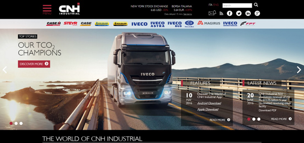 New CNHIndustrial.com - Homepage