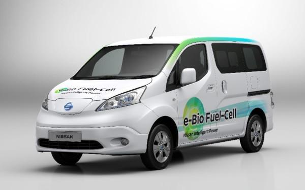 Nissan propulsada con bioetanol
