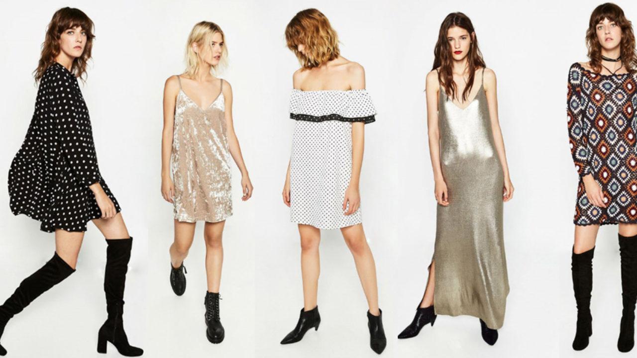 Tendencias Colección Zara De Vestidos La Las Nueva Kc1TlFJ