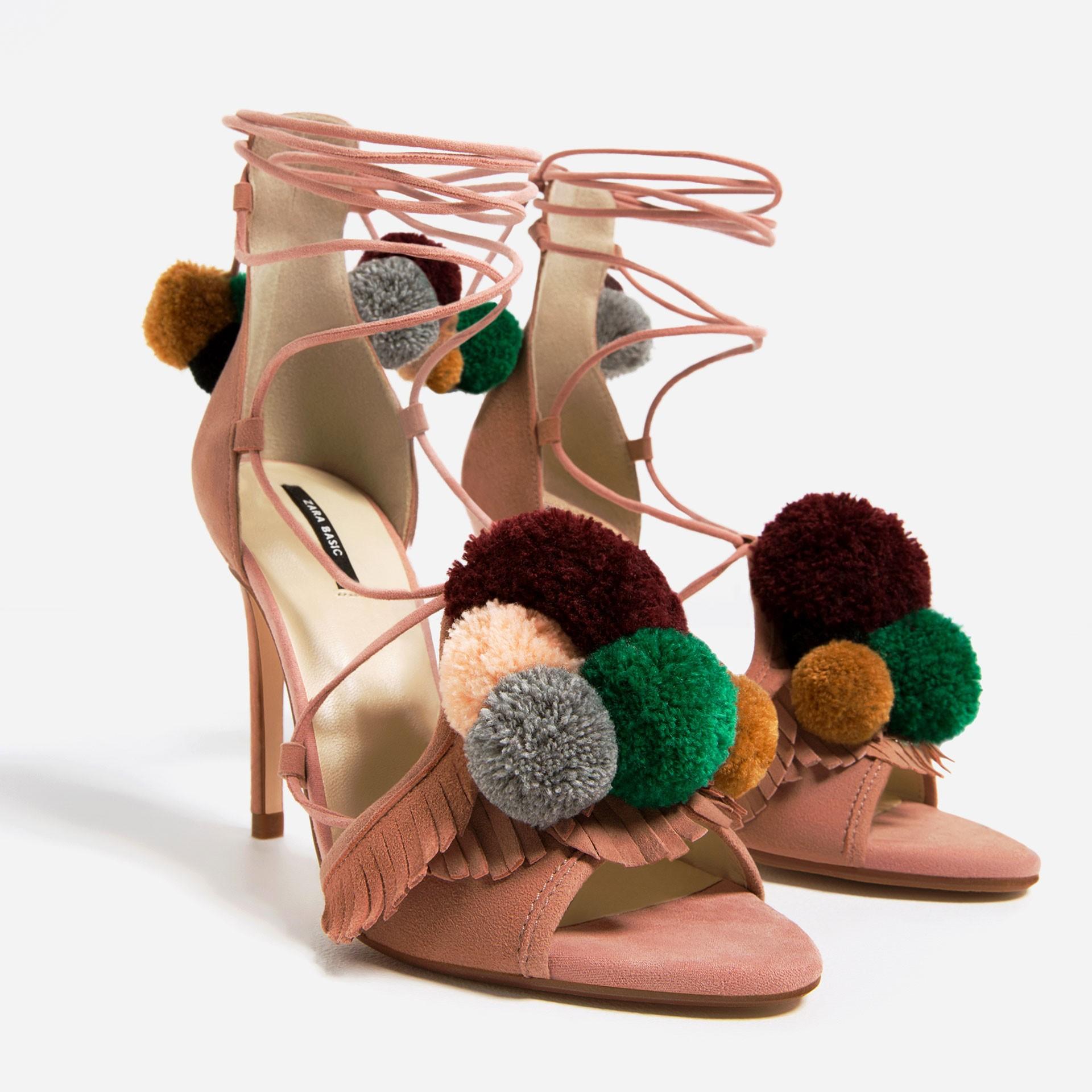Zapatos Botasstilettos De Zara La Bailarinas Colección Dthqrsc Y hdtsQCr