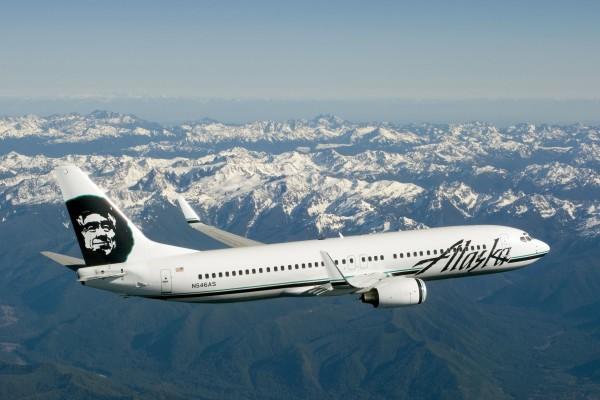 Avión de Alaska Air