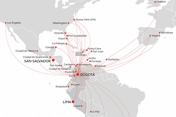 avianca-mapa-de-rutas