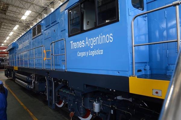 Locomotoras chinas modernizaran el ferrocarril argentino