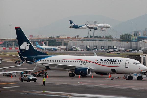 Mexico aumenta importacion de combustible para aviones