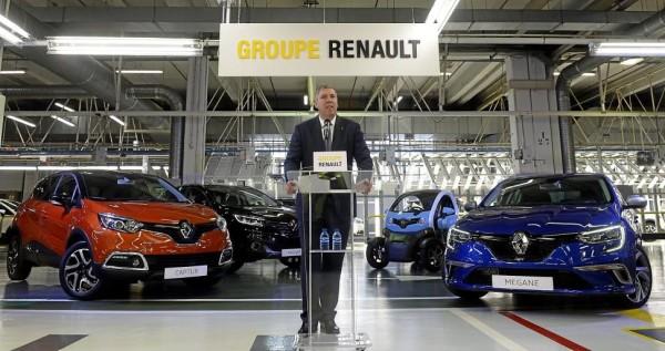 Ventas Grupo Renault