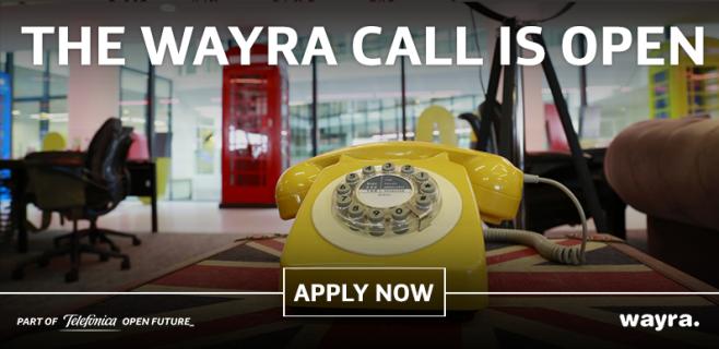 Wayra ofrece 27 plazas a emprendedores para acelerar startups digitales
