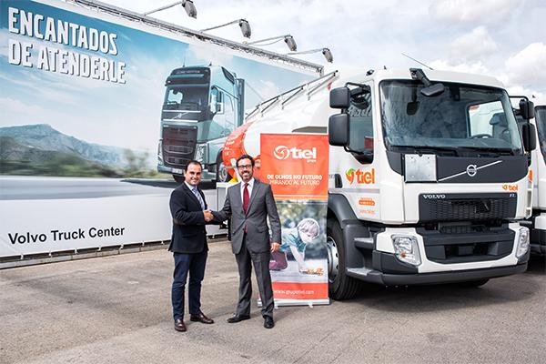 TIEL adquirió nueve unidades Volvo Trucks