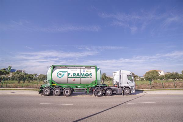 Transportes F. Ramos apuesta por el medio ambiente