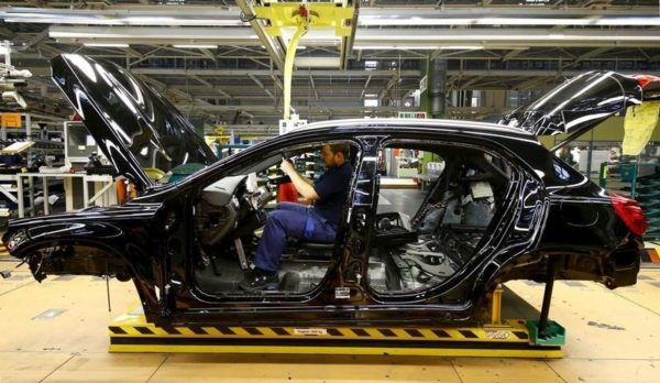 actividad industrial eurozona