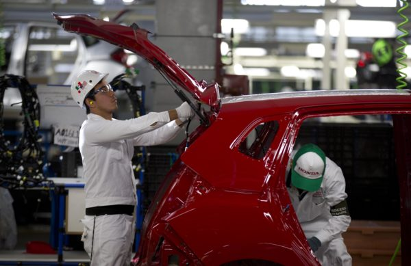 sector manufacturero Japón