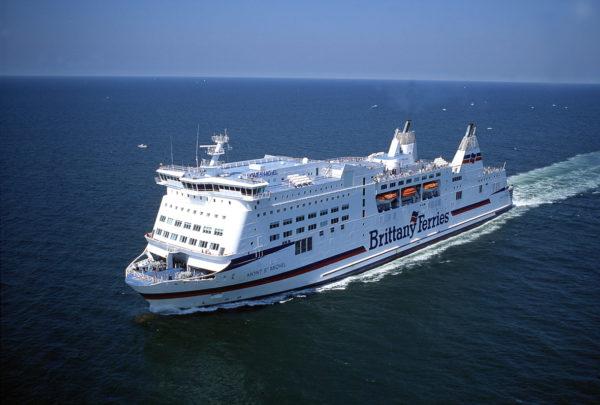 Ferry Mont St Michel