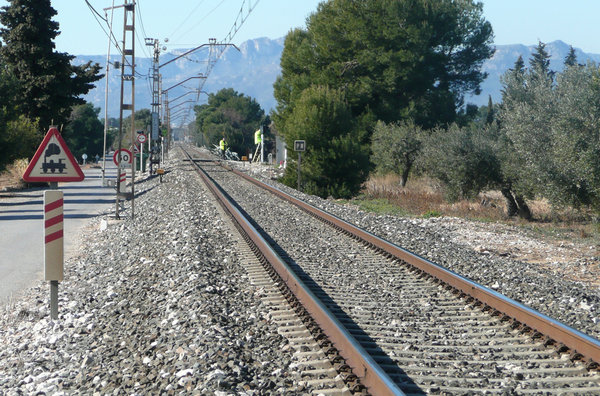 Transporte ferroviario de mercancías está en descenso en Espana