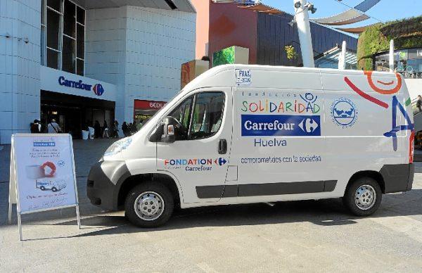 furgoneta Carrefour