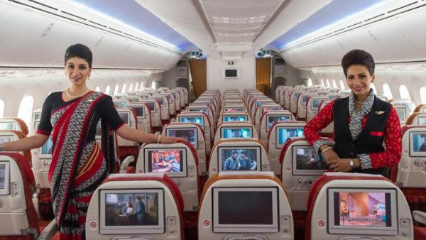 Asientos para mujeres en Air India
