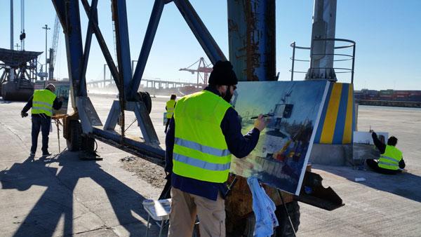 Certamen-de-Pintura-al-aire-libre-de-Patrimonio-Industrial-sevilla