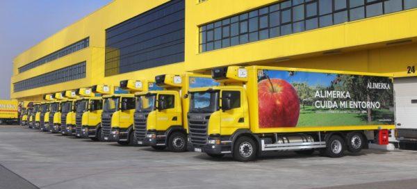 Scania camión de GNL