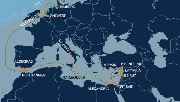 Seago Line rutas