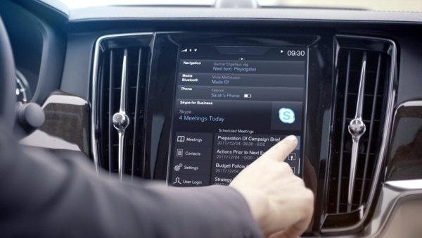 Skype Volvo