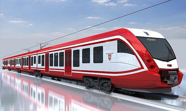 tren eléctrico CAF