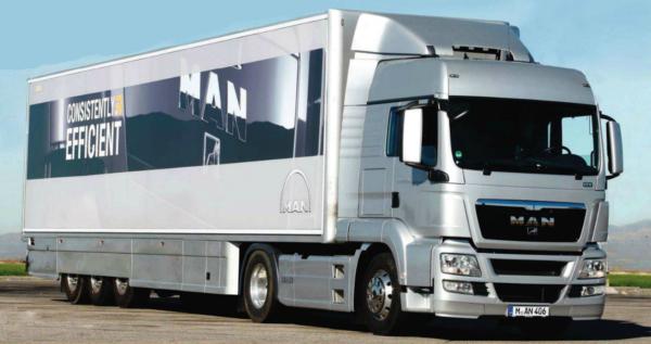 camiones man tgs 18400 trailer