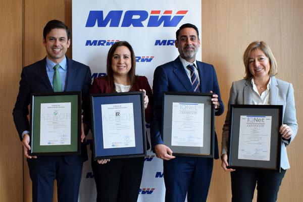 certificaciones-ISO-MRW-Aenor