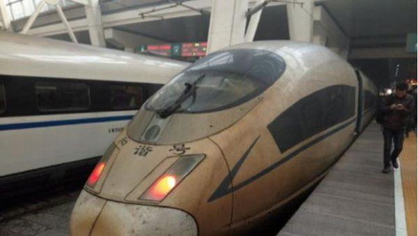 tren contaminación