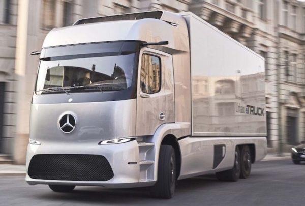 Mercedes truck eléctrico