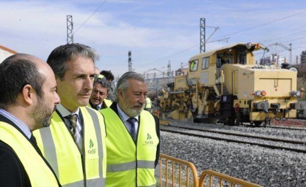 Tren puerto de Barcelona
