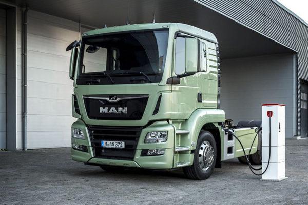Camión MAN eléctrico