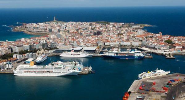 Cruceros puerto La Coruña