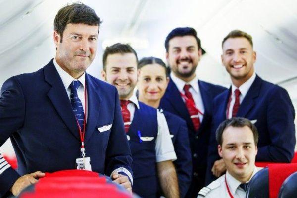 Norwegian Air tripulación