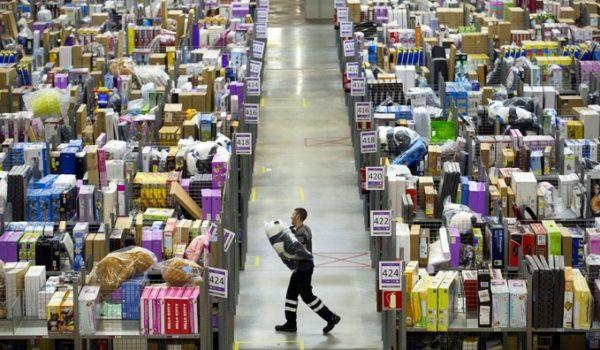 centro logístico Amazon