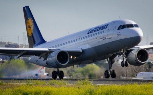 grupo aéreo Lufthansa