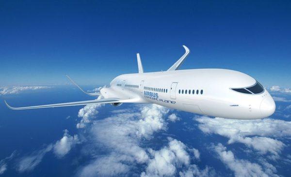 prototipo avión eléctrico de Airbus