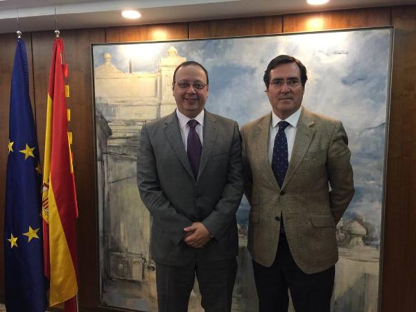 Antonio Garamendi y Marcos Basante