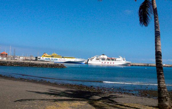 Los canarios tendr n un 75 de descuento en el transporte - Transporte entre islas canarias ...