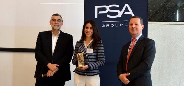 ASTI ha sido premiada por Grupo PSA