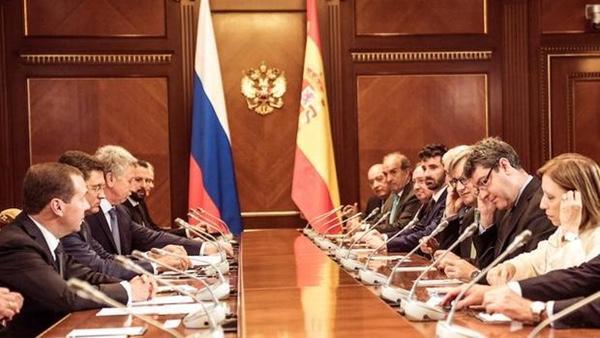 España y Rusia quieren aumentar sus relaciones comerciales